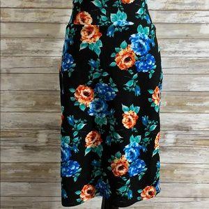 LuLaRoe vintage Cassie skirt floral